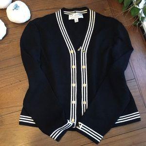 St.John Blazer Sweater Size 6
